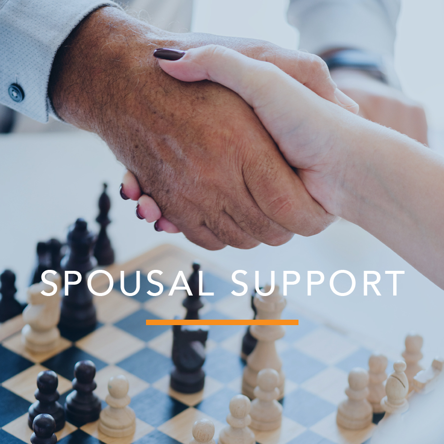 Request for Order: Spousal Support
