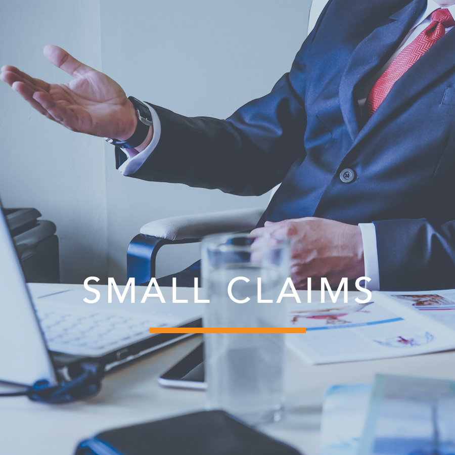 Preparation of Small Claims Forms