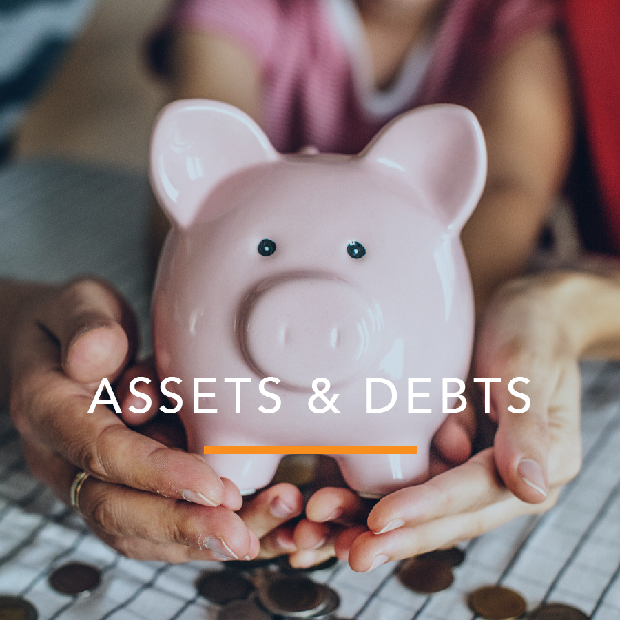 Schedule of Assets and Debts