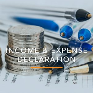 Income and Expense Declaration: Child Support
